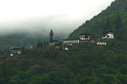 View of monastery