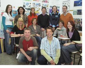 The Blue Door teachers