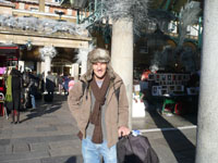 Photo of a man in Covent Garden