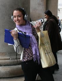 Onestopenglish reporter in Covent Garden