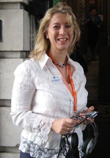 Onestopenglish reporter, Karen Richardson