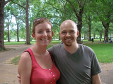 Photo of a couple in Green Park