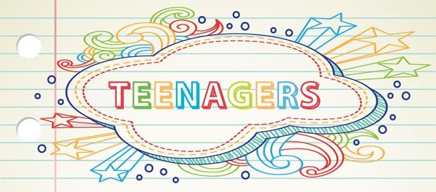 Teen banner long